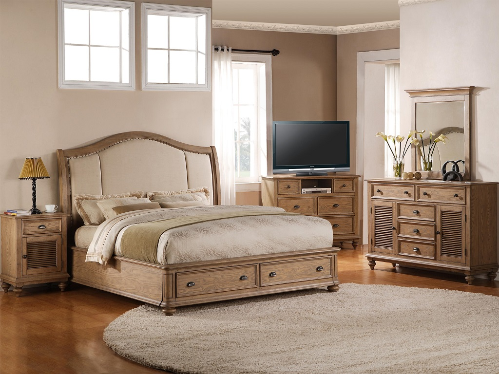 Image of: The Cal King Bedroom Sets