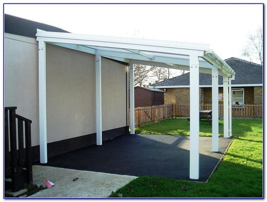 Image of: Canopy Aluminum Awnings for Decks