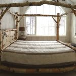 Canopy Bed Frame Queen Ikea