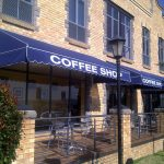 Canvas Awnings Navy