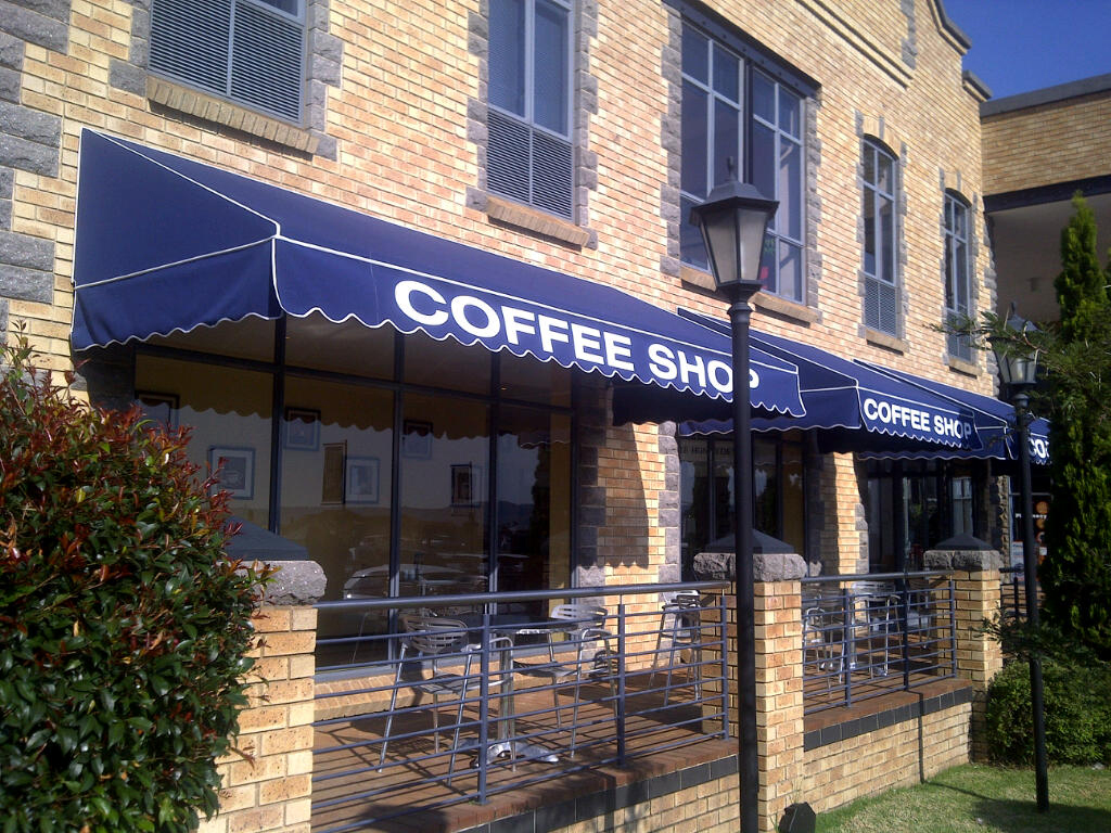 Image of: Canvas Awnings Navy