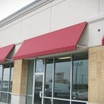 Canvas Awnings Red