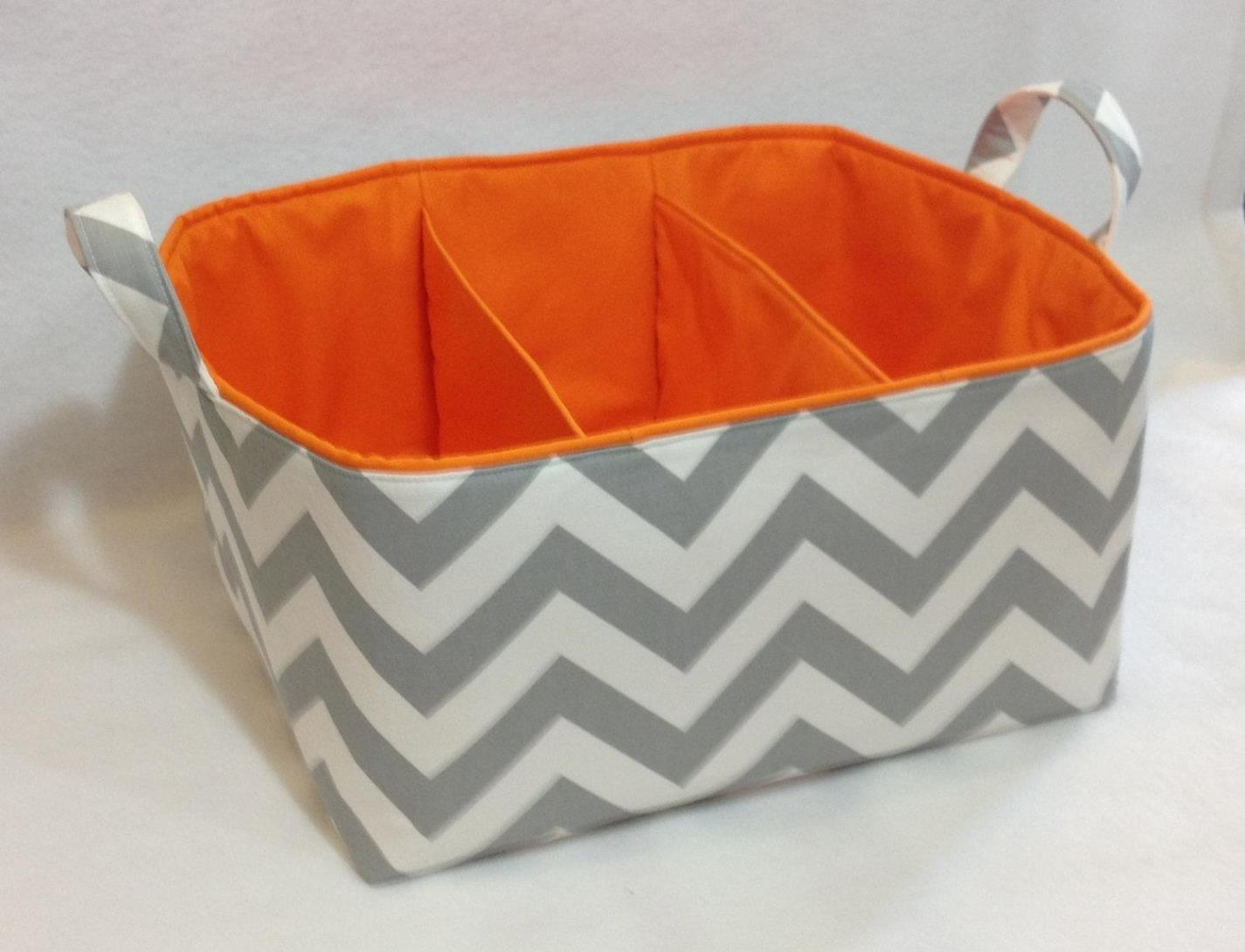 Image of: Canvas Storage Bins With Lids