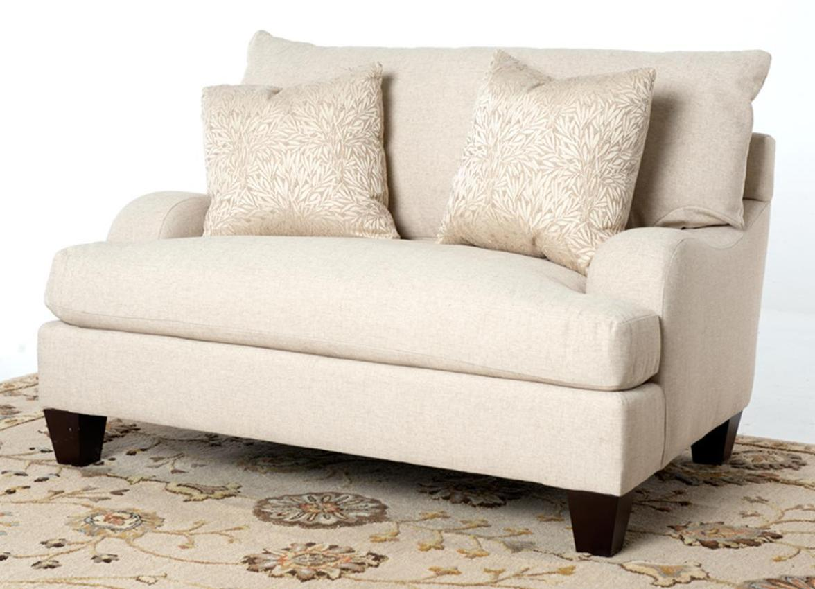Image of: Chair And A Half Recliner Slipcover