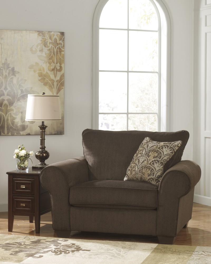 Image of: Chair and a Half Recliner Cover