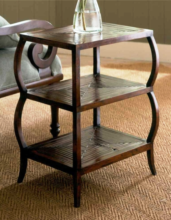 Image of: Chairside End Table