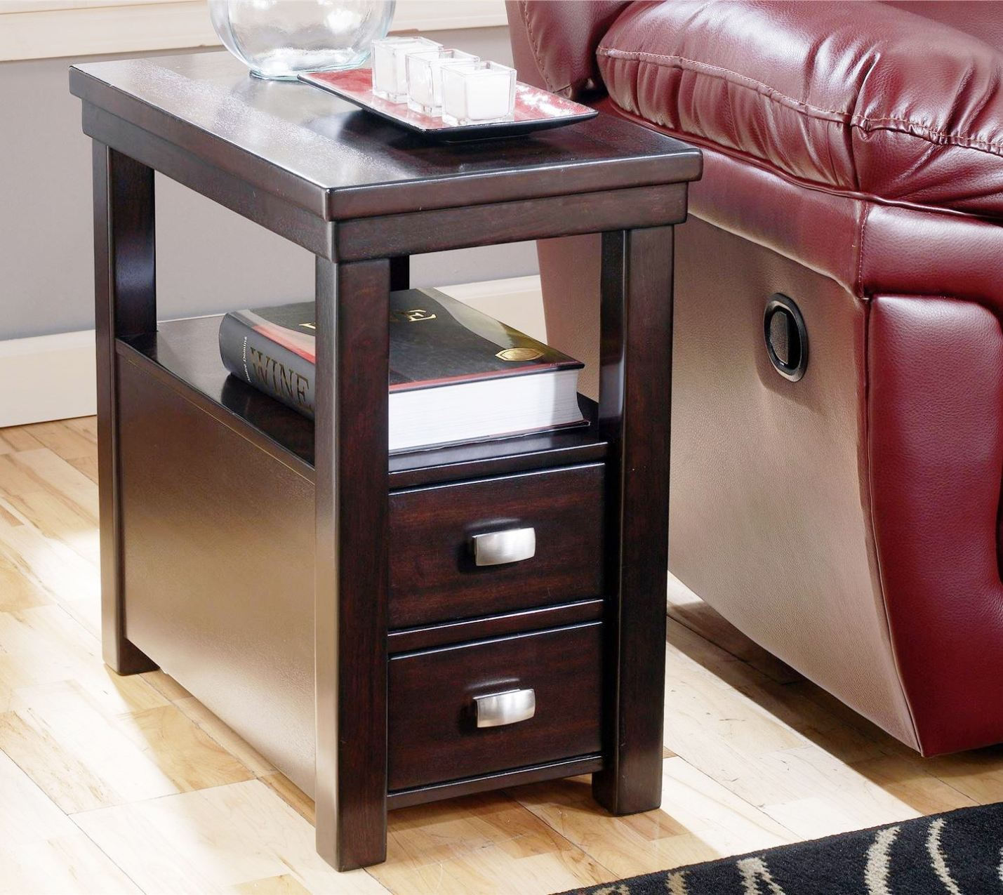 Image of: Chairside End Tables