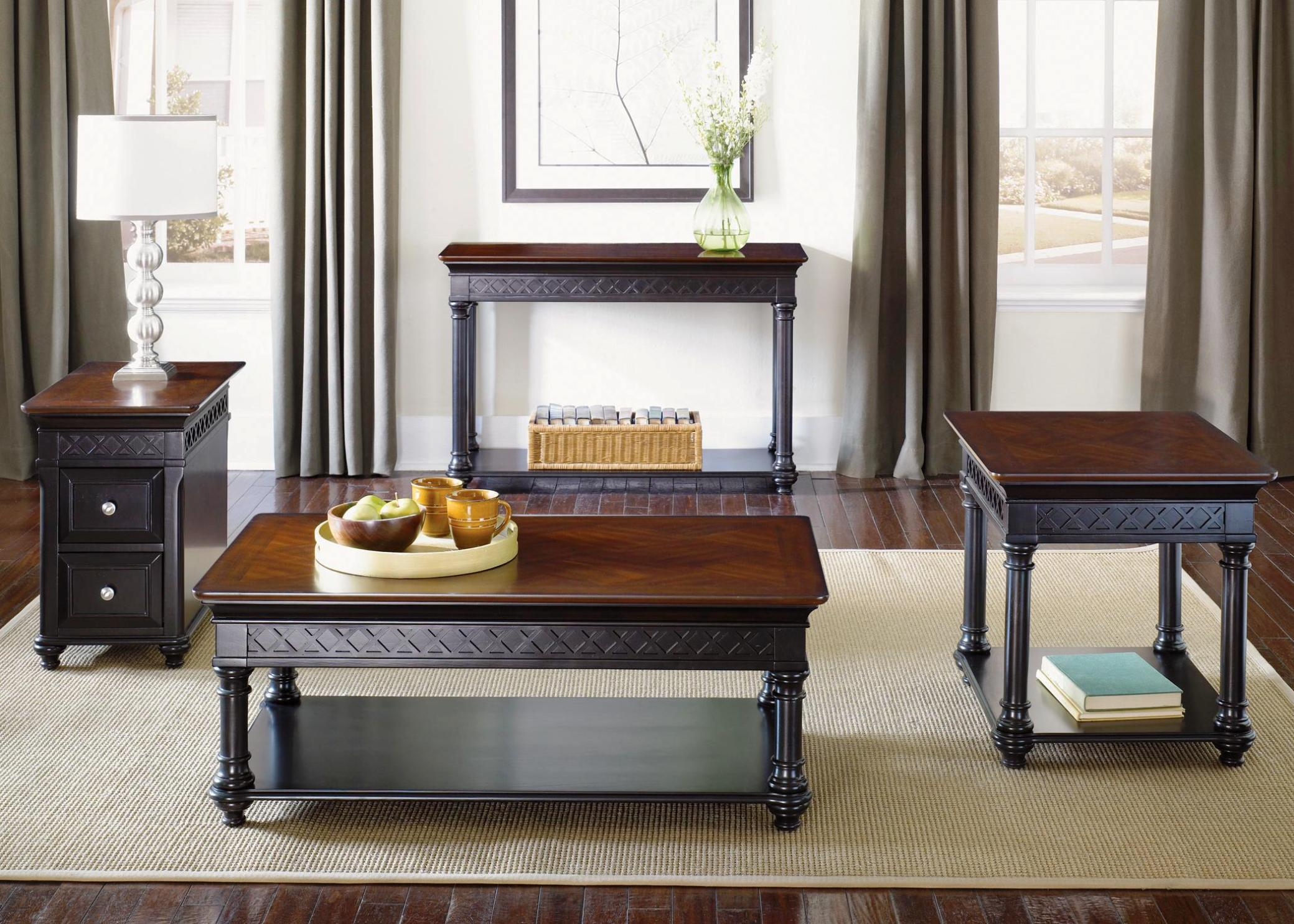 Image of: Chairside Table With Drawers