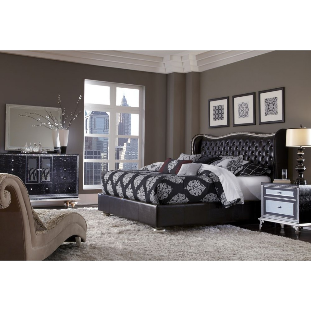 Image of: Cheap Aico Bedroom Set
