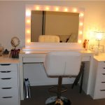 Cheap Mirrored Vanity Set