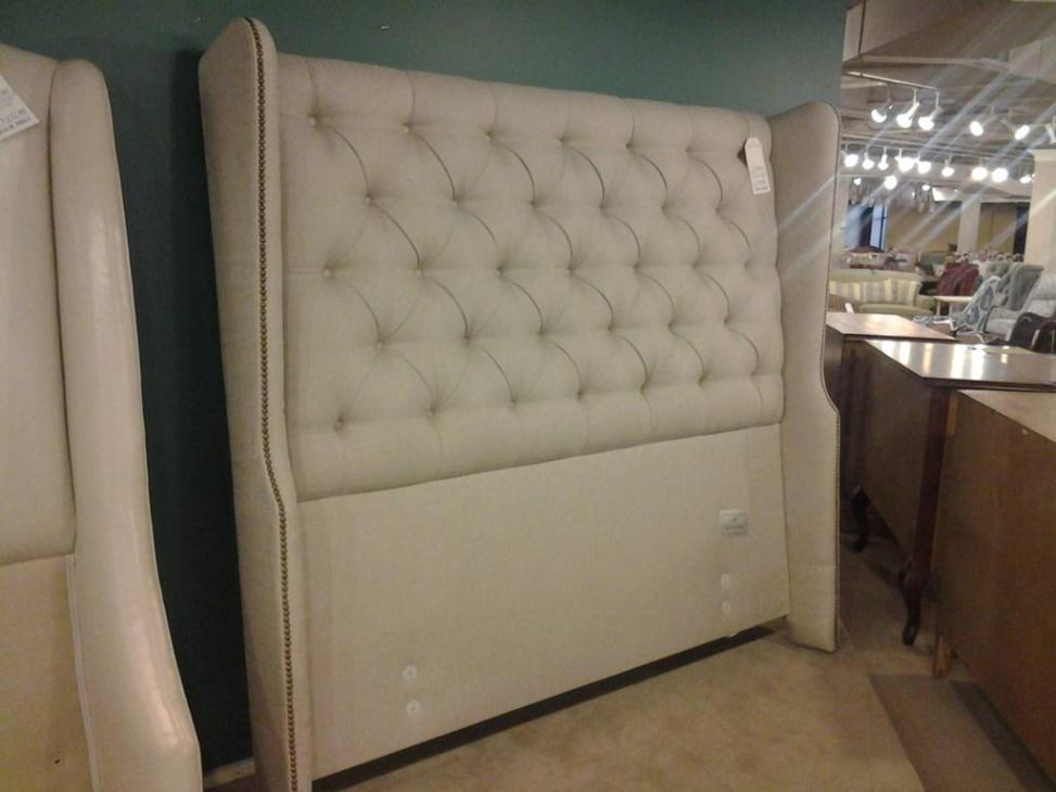 Image of: Cheap Tufted Headboard Queen
