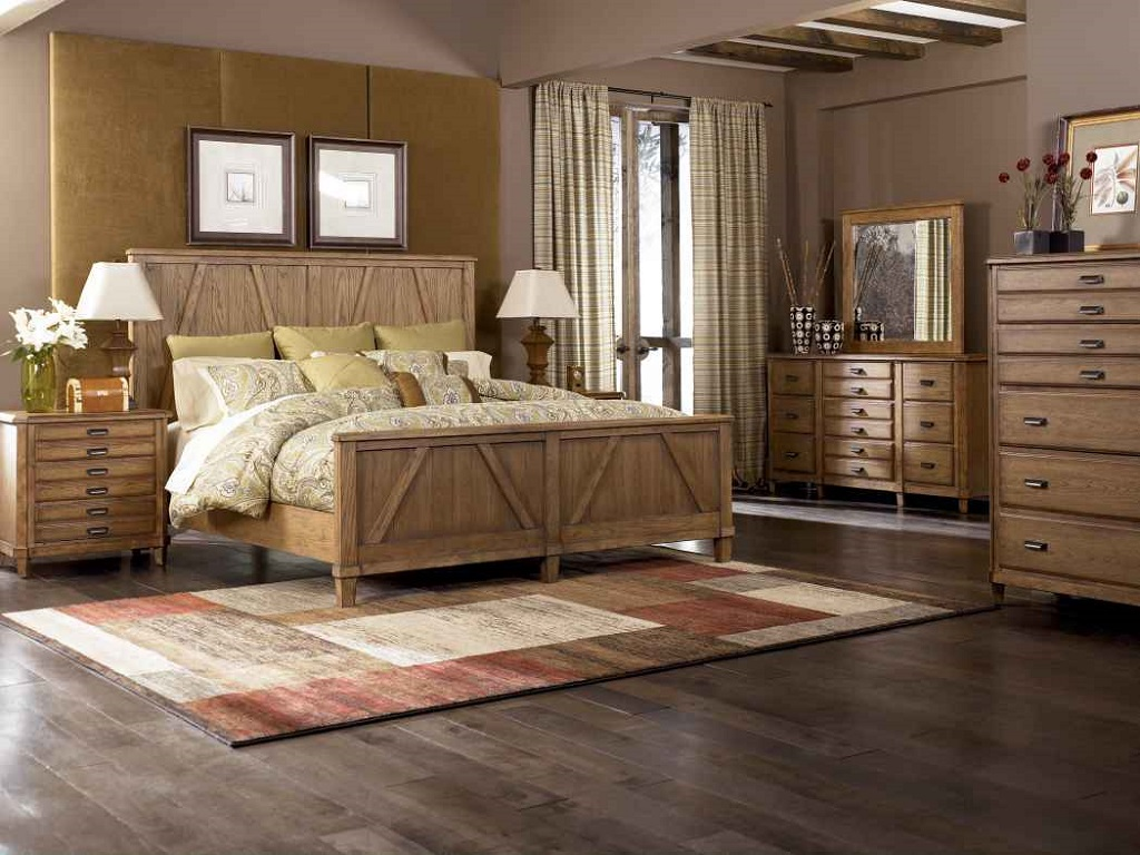 Image of: Cherry Bedroom Furniture Traditional