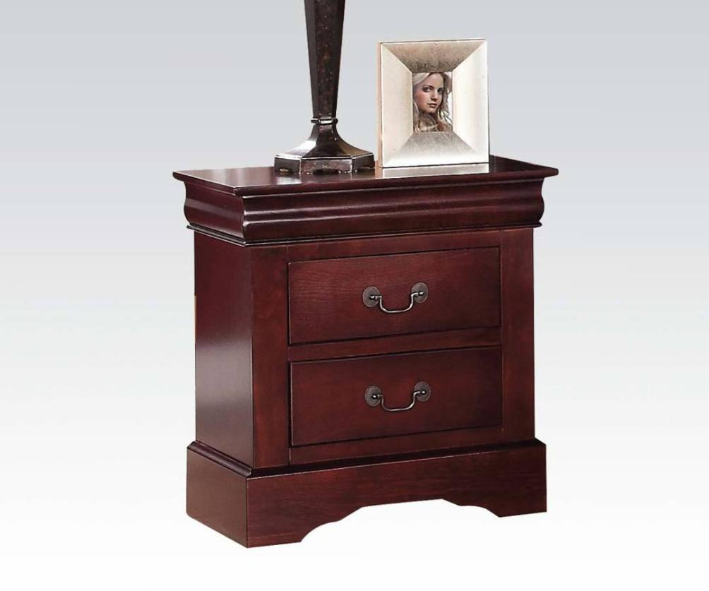Image of: Cherry Wood Nightstands