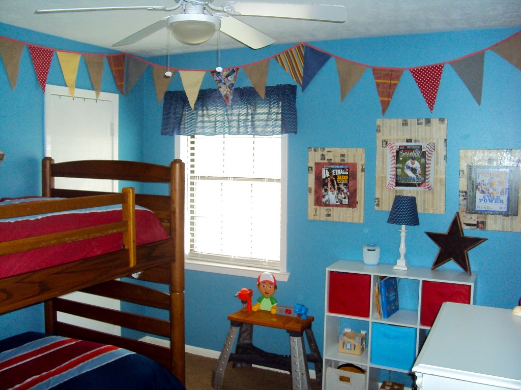 Image of: Childrens Bedroom Paint Colour Ideas