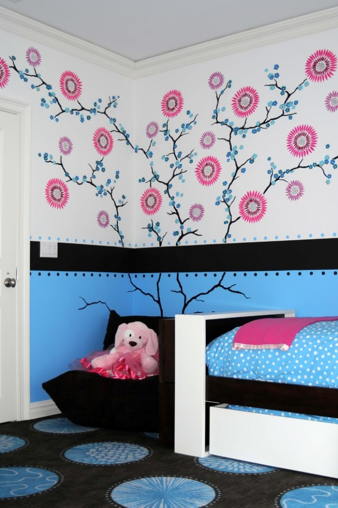 Image of: Childrens Bedroom Wall Decals