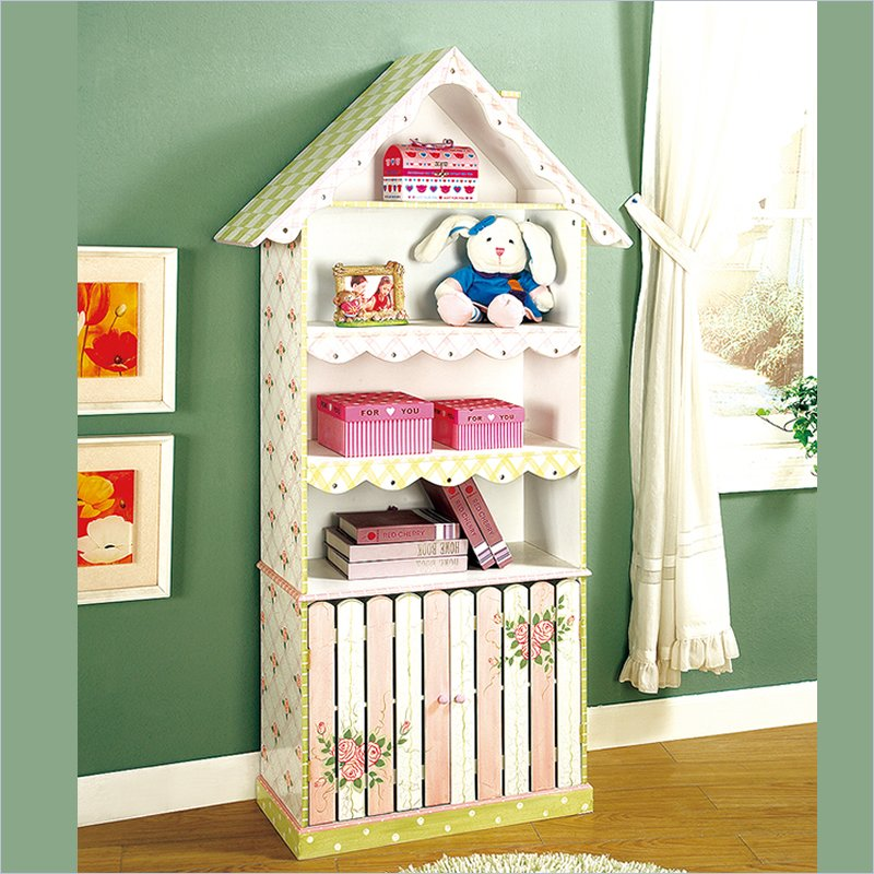 Image of: Childrens Bookcase Dollhouse