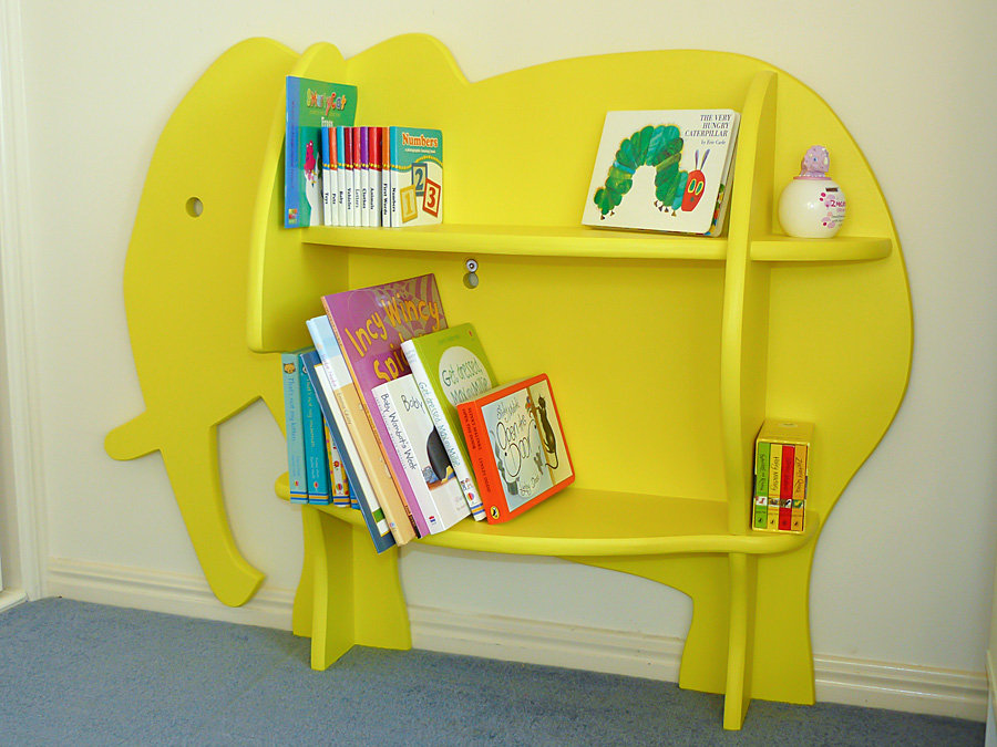 Image of: Childrens Bookcase Shapes