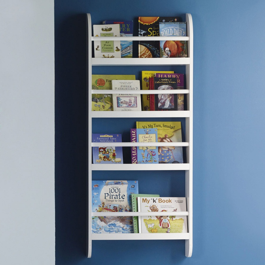 Image of: Childrens Bookcase on Wall