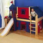 Childrens Bunk Beds With Slides
