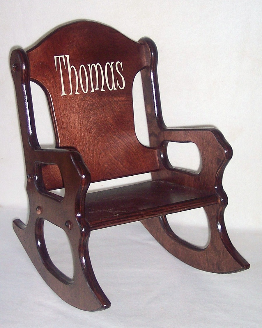 Image of: Childs Rocking Chair Design