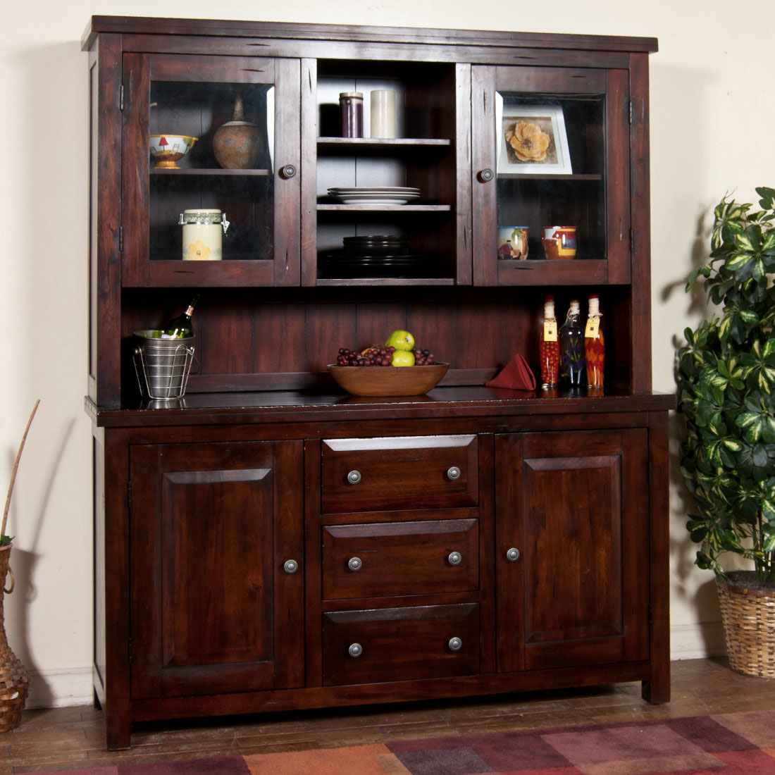 Image of: china cabinets and hutches style