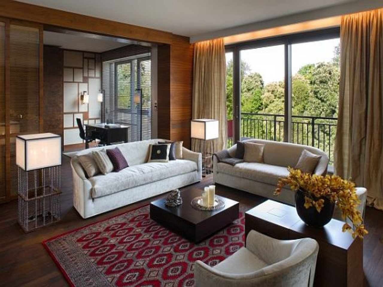 Image of: classic apartment living room ideas