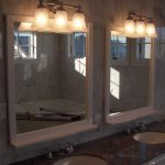Classic Bathroom Mirror with Lights