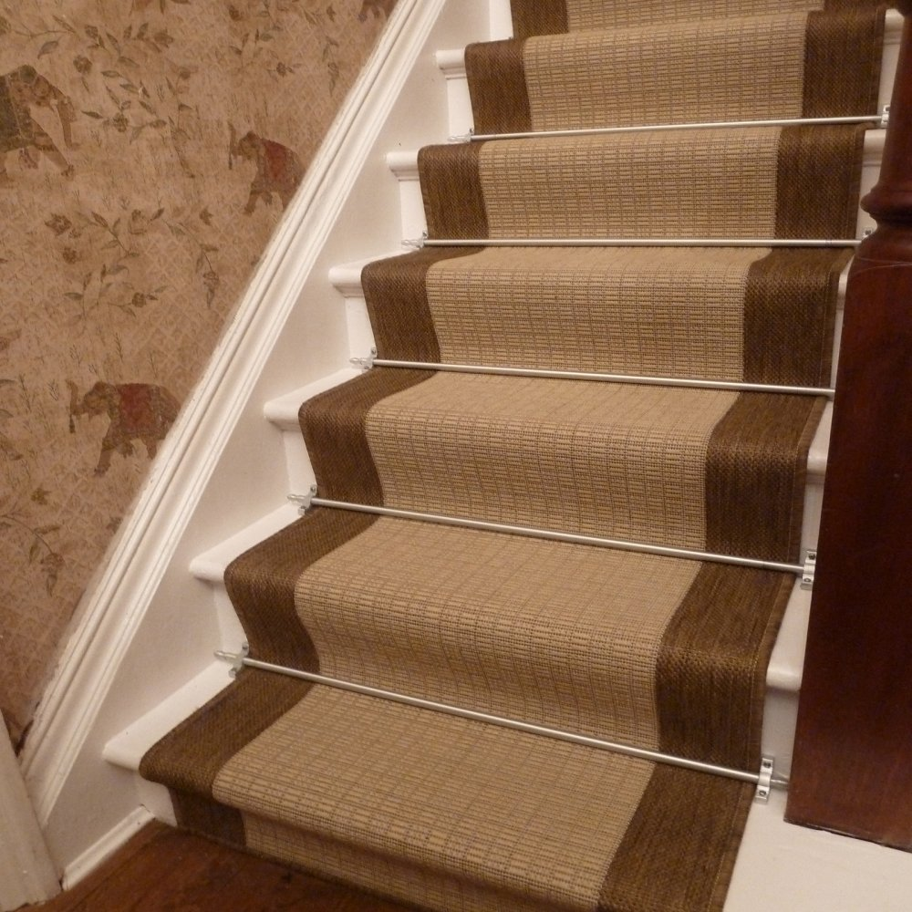 Image of: classic carpet runners for stairs