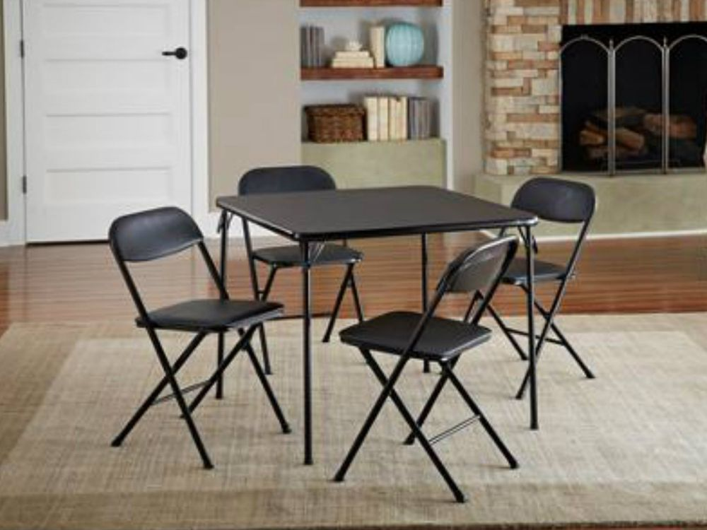 Image of: Classic Folding Dining Chairs