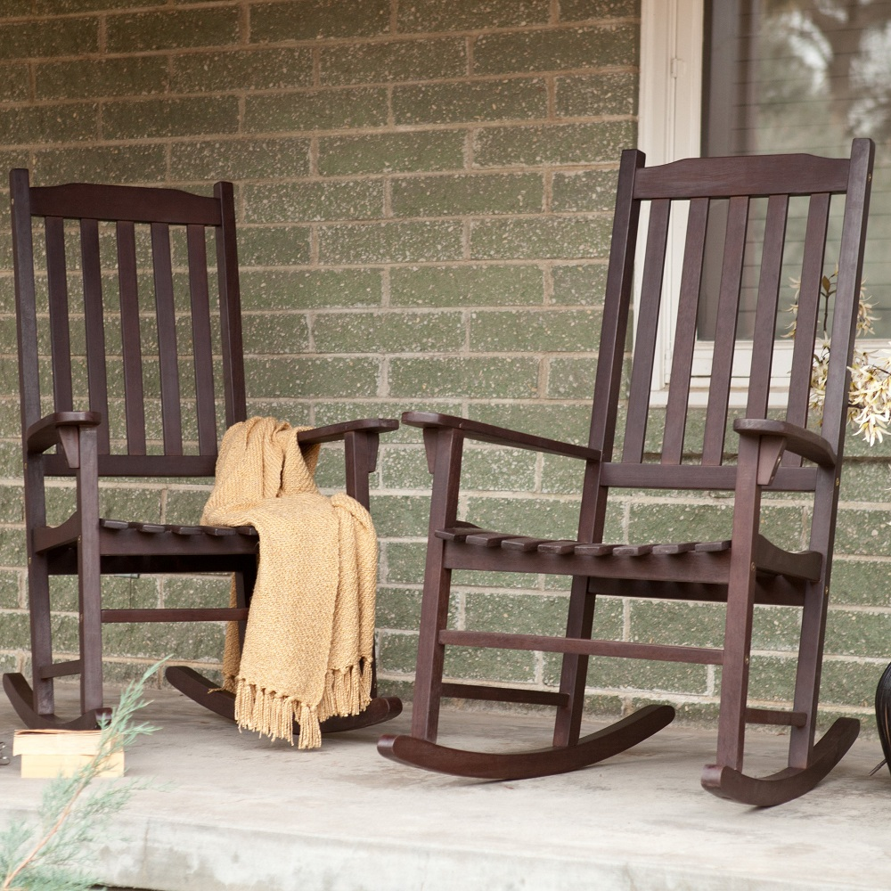 Image of: Classic Mission Style Rocking Chair