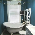 clawfoot tub shower design ideas
