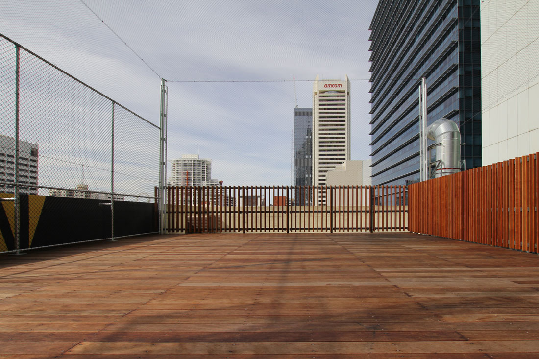 Image of: Clear Deck Netting