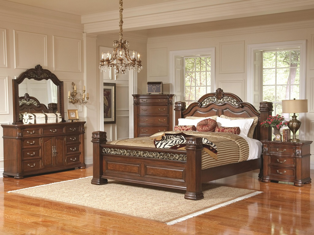 Image of: Coal Creek Bedroom Set Ashley Furniture