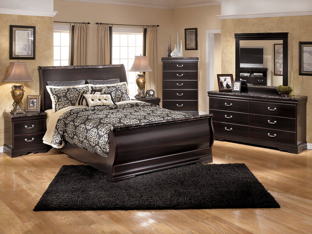 Image of: The Coal Creek Bedroom Set Free Shipping