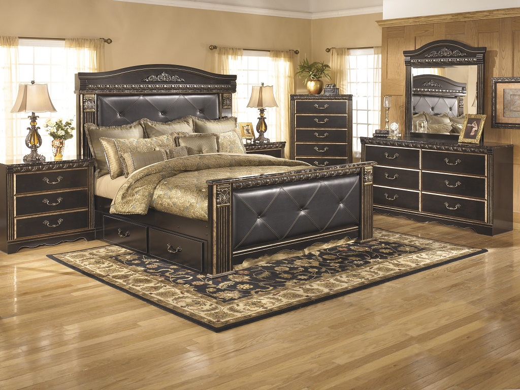Image of: Coal Creek Mansion Bedroom Set King