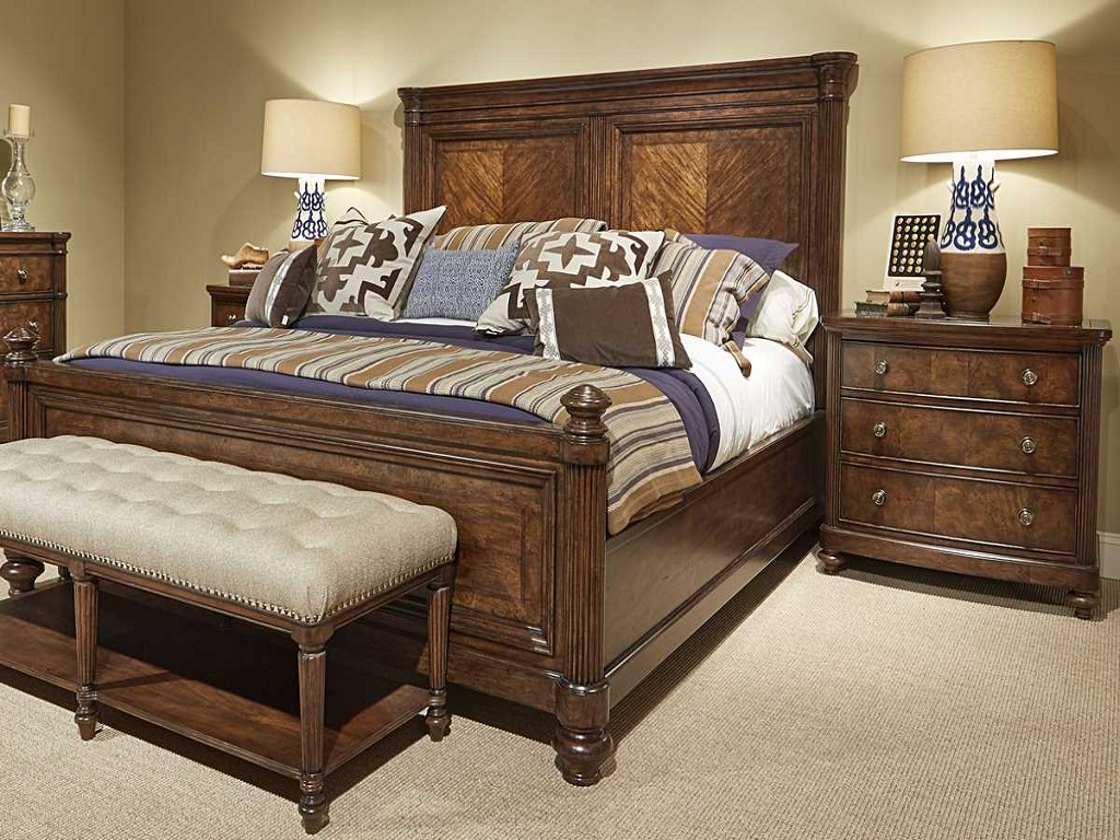 Image of: Coal Creek Sleigh Bedroom Set