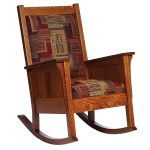 Color Mission Style Rocking Chair