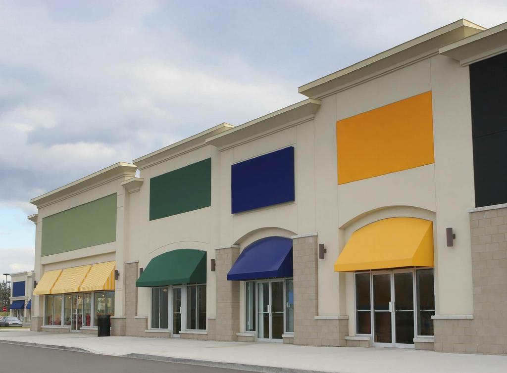 Image of: Commercial Awnings Lansing