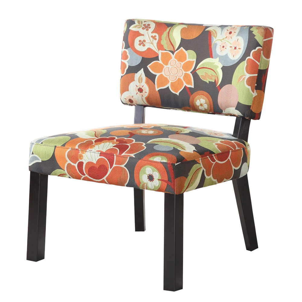 Image of: Concept Floral Accent Chair