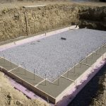 Concrete Deck Footings in Clay