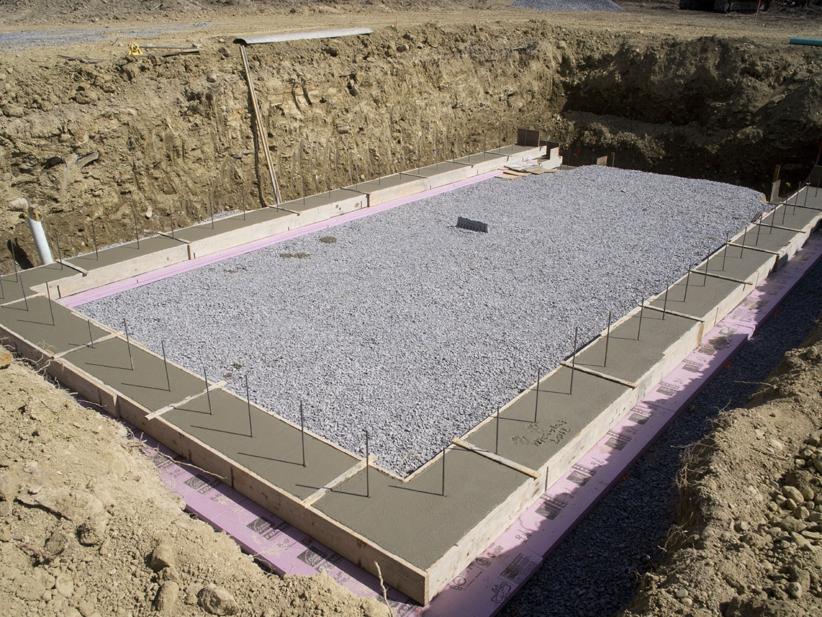 Image of: Concrete Deck Footings in Clay