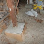 Concrete Deck Footings without Forms