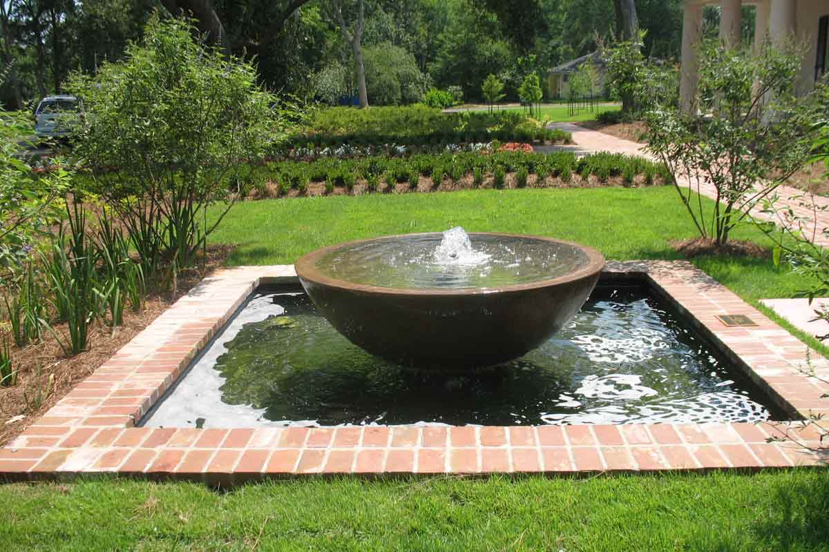 Image of: Concrete Fountains Design Ideas