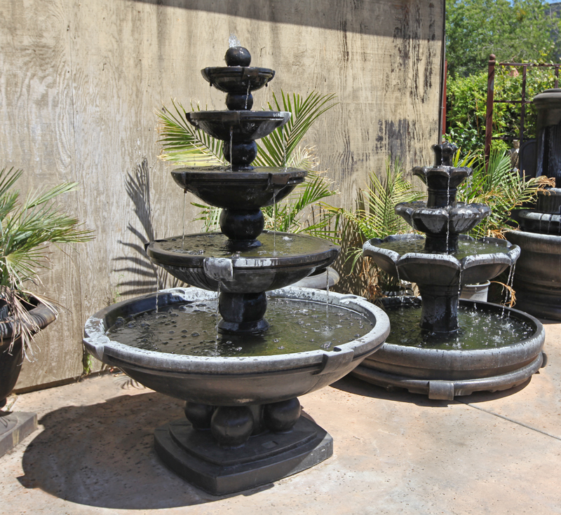 Image of: Concrete Fountains Design