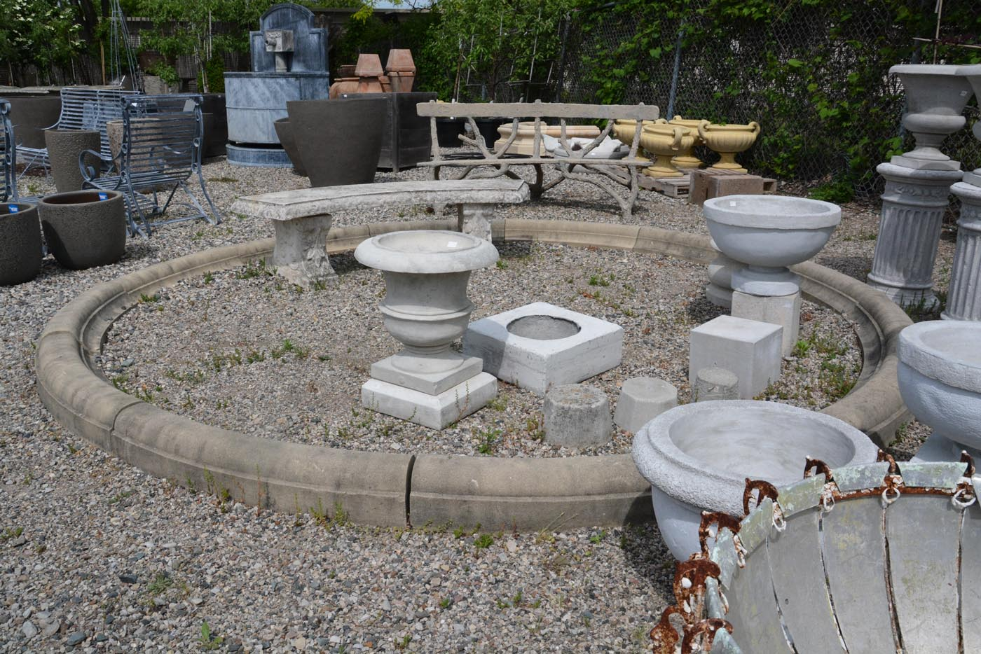 Image of: Concrete Fountains Picture