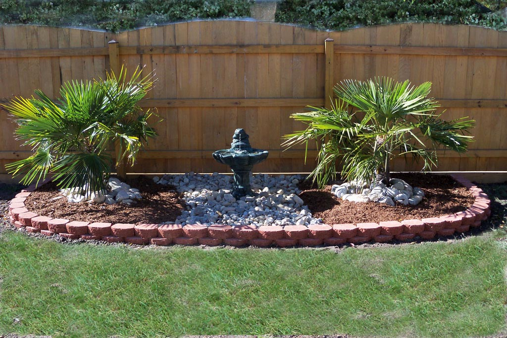 Image of: Concrete Fountains Style