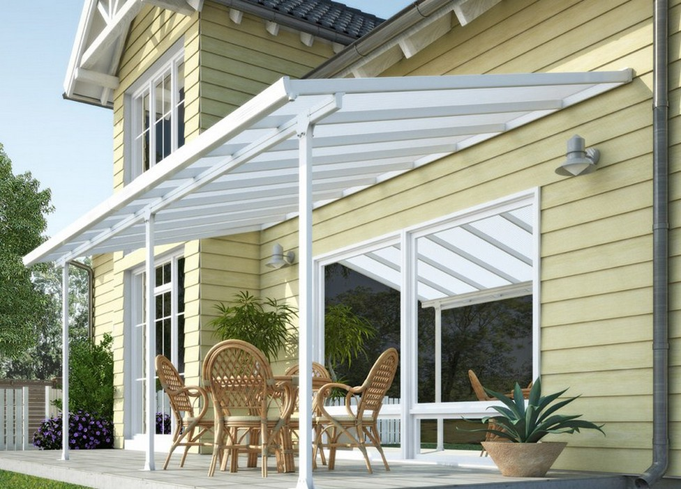 Contemporary Aluminum Awnings for Patios