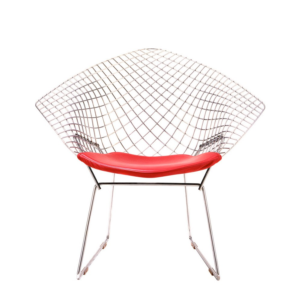 Image of: contemporary bertoia diamond chair