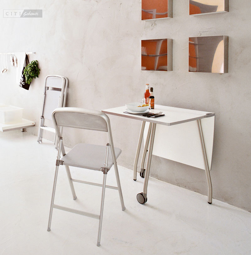 Image of: Contemporary Folding Dining Chairs