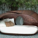 contemporary outdoor wicker chairs